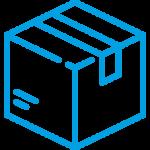 Caja azul envíos tienda conservas Pescamar online